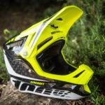 100%エアークラフト、MTB用フルフェイスヘルメット!