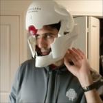 ある開発者のめちゃ格好いい自動開閉ヘルメット