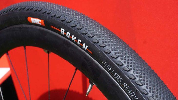 IRCの新タイヤ、ボウケン&タンケン!