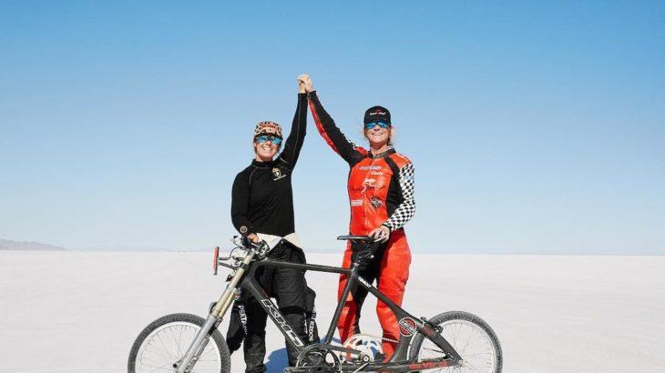 自転車世界最速記録を更新! 時速296キロに到達!